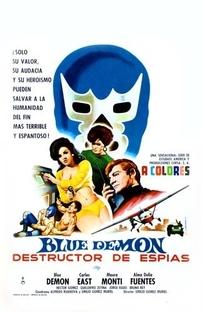 Blue Demon Destructor de Espías - Poster / Capa / Cartaz - Oficial 1