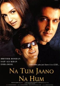 Na Tum Jaano Na Hum - Poster / Capa / Cartaz - Oficial 2
