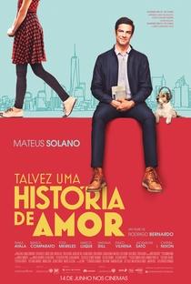 Talvez Uma História de Amor - Poster / Capa / Cartaz - Oficial 1