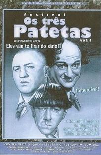Festival Os Três Patetas - Volume 1 - Poster / Capa / Cartaz - Oficial 1