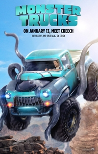 Monster Trucks - Poster / Capa / Cartaz - Oficial 3