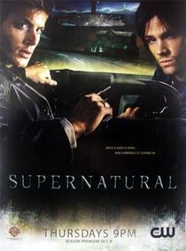 Sobrenatural (2ª Temporada) - Poster / Capa / Cartaz - Oficial 3