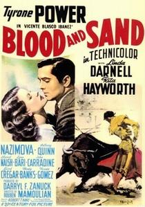 Sangue e Areia - Poster / Capa / Cartaz - Oficial 2