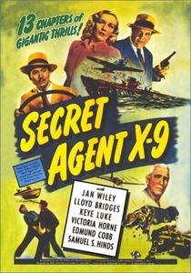 Agente Secreto X-9 - Poster / Capa / Cartaz - Oficial 2