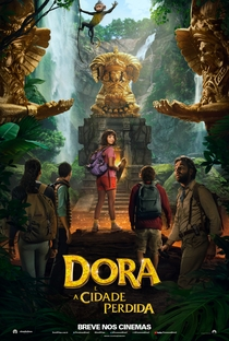 Dora e a Cidade Perdida - Poster / Capa / Cartaz - Oficial 1