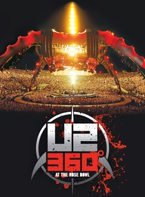 U2 360º - Live at The Rose Bowl - Poster / Capa / Cartaz - Oficial 1