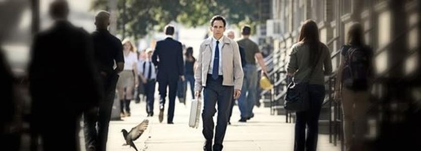 Ben Stiller no excelente trailer, legendado, de A VIDA SECRETA DE WALTER MITTY  