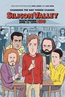 Silicon Valley (4ª Temporada) - Poster / Capa / Cartaz - Oficial 1