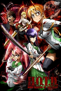 Highschool of the Dead - Poster / Capa / Cartaz - Oficial 1