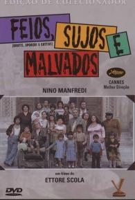 Feios, Sujos e Malvados - Poster / Capa / Cartaz - Oficial 2