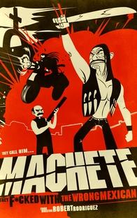 Machete - Poster / Capa / Cartaz - Oficial 4