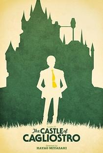O Castelo de Cagliostro - Poster / Capa / Cartaz - Oficial 2