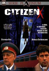 Cidadão X - Poster / Capa / Cartaz - Oficial 4