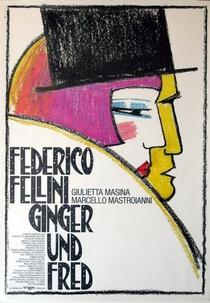 Ginger e Fred - Poster / Capa / Cartaz - Oficial 1