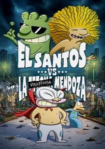 El Santos VS la Tetona Mendoza - Poster / Capa / Cartaz - Oficial 1
