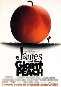 James e o Pêssego Gigante - Poster / Capa / Cartaz - Oficial 1