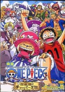 One Piece 3 - O Reino de Chopper na Ilha dos Estranhos Animais! - Poster / Capa / Cartaz - Oficial 2