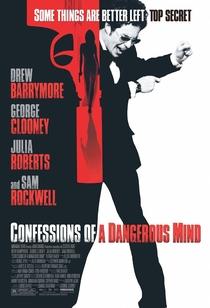 Confissões de uma Mente Perigosa - Poster / Capa / Cartaz - Oficial 1
