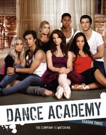 Dance Academy (3ª Temporada) - Poster / Capa / Cartaz - Oficial 1