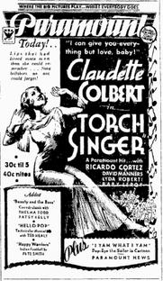 Torch Singer - Poster / Capa / Cartaz - Oficial 1