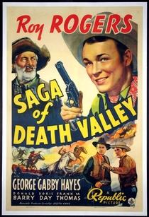 A Saga do Vale da Morte - Poster / Capa / Cartaz - Oficial 1