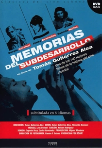 Memórias do Subdesenvolvimento - Poster / Capa / Cartaz - Oficial 2
