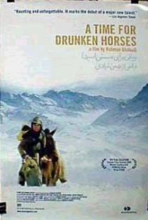 Tempo de Cavalos Bêbados - Poster / Capa / Cartaz - Oficial 5