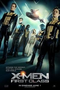 X-Men: Primeira Classe - Poster / Capa / Cartaz - Oficial 1