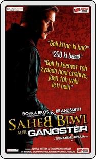 Saheb Biwi Aur Gangster - Poster / Capa / Cartaz - Oficial 4