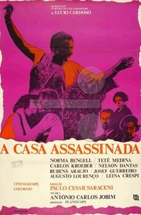 A Casa Assassinada - Poster / Capa / Cartaz - Oficial 1