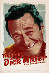 That Guy Dick Miller - Poster / Capa / Cartaz - Oficial 2