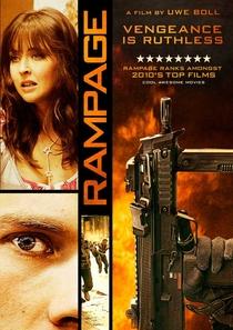 Rampage – Sede de Vingança - Poster / Capa / Cartaz - Oficial 3