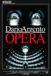 Terror na Ópera - Poster / Capa / Cartaz - Oficial 1
