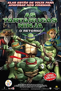 As Tartarugas Ninja - O Retorno - Poster / Capa / Cartaz - Oficial 5