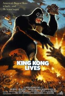 King Kong 2 - A História Continua - Poster / Capa / Cartaz - Oficial 2