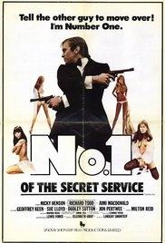 Número um do Serviço Secreto - Poster / Capa / Cartaz - Oficial 1