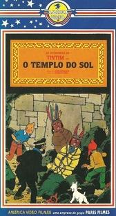 As Aventuras de Tintin - O Templo do Sol - Poster / Capa / Cartaz - Oficial 1