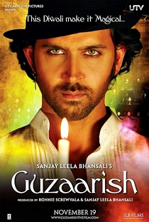 Guzaarish - Poster / Capa / Cartaz - Oficial 9