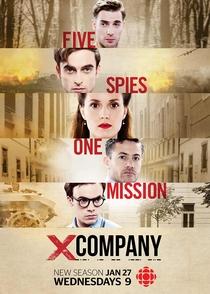 X Company (2ª Temporada) - Poster / Capa / Cartaz - Oficial 1