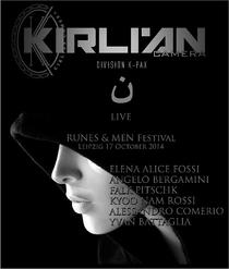 Kirlian Camera - Live at Runes and Men - Poster / Capa / Cartaz - Oficial 1