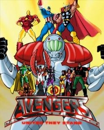 The Avengers: United They Stand (1ª Temporada) - Poster / Capa / Cartaz - Oficial 1