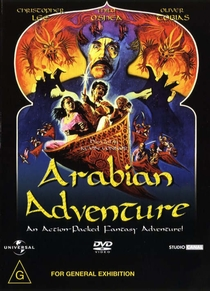 Aventura na Arábia - Poster / Capa / Cartaz - Oficial 1