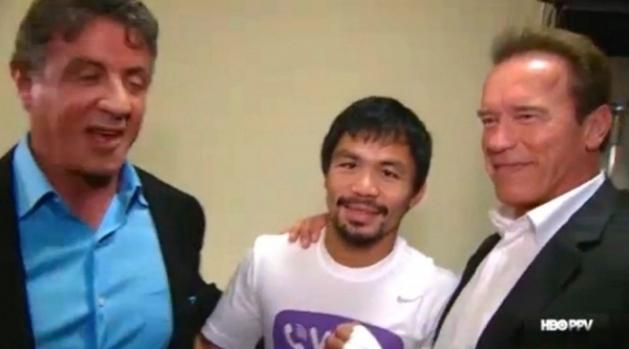 'Os Mercenários 4' poderá ser filmado em Filipinas e com o boxeador Manny Pacquiao no elenco.