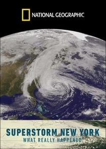 Sandy - Um Rastro de Destruição (National Geographic) - Poster / Capa / Cartaz - Oficial 1