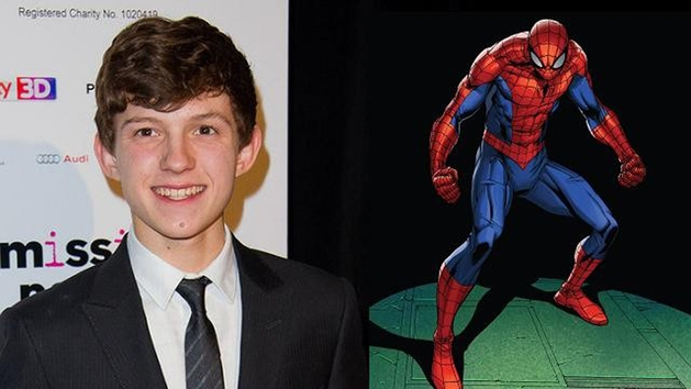 Tom Holland é o novo Homem-Aranha