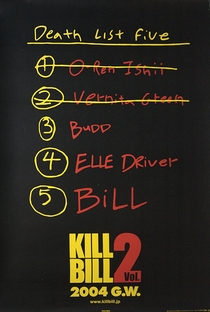Kill Bill: Volume 2 - Poster / Capa / Cartaz - Oficial 5