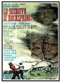 O Xerife de Rocksprings - Poster / Capa / Cartaz - Oficial 1