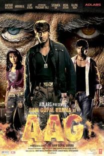 Ram Gopal Varma Ki Aag - Poster / Capa / Cartaz - Oficial 1