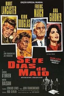 Sete Dias de Maio - Poster / Capa / Cartaz - Oficial 5