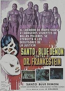 Santo e Blue Demon Contra o Dr. Frankenstein - Poster / Capa / Cartaz - Oficial 1
